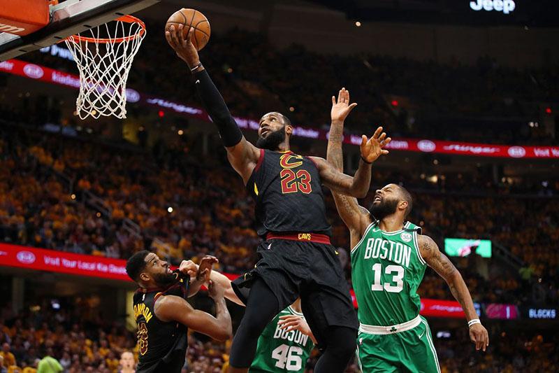 Kết quả hình ảnh cho NBA: Cleveland Cavaliers vs Boston Celtics (07:30, 22/5)