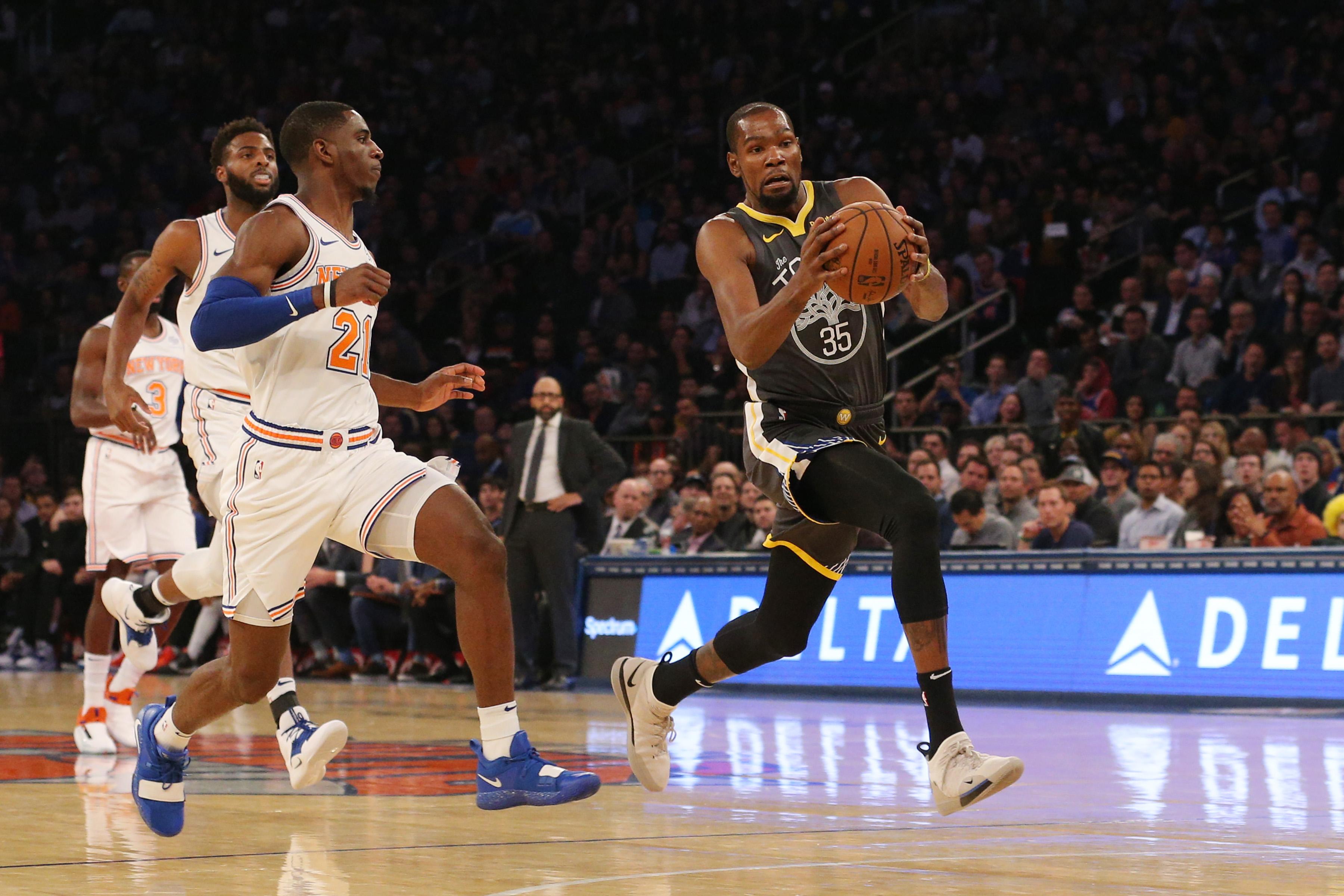 Kevin Durant đè bẹp New York Knicks - Những diễn biến không tưởng