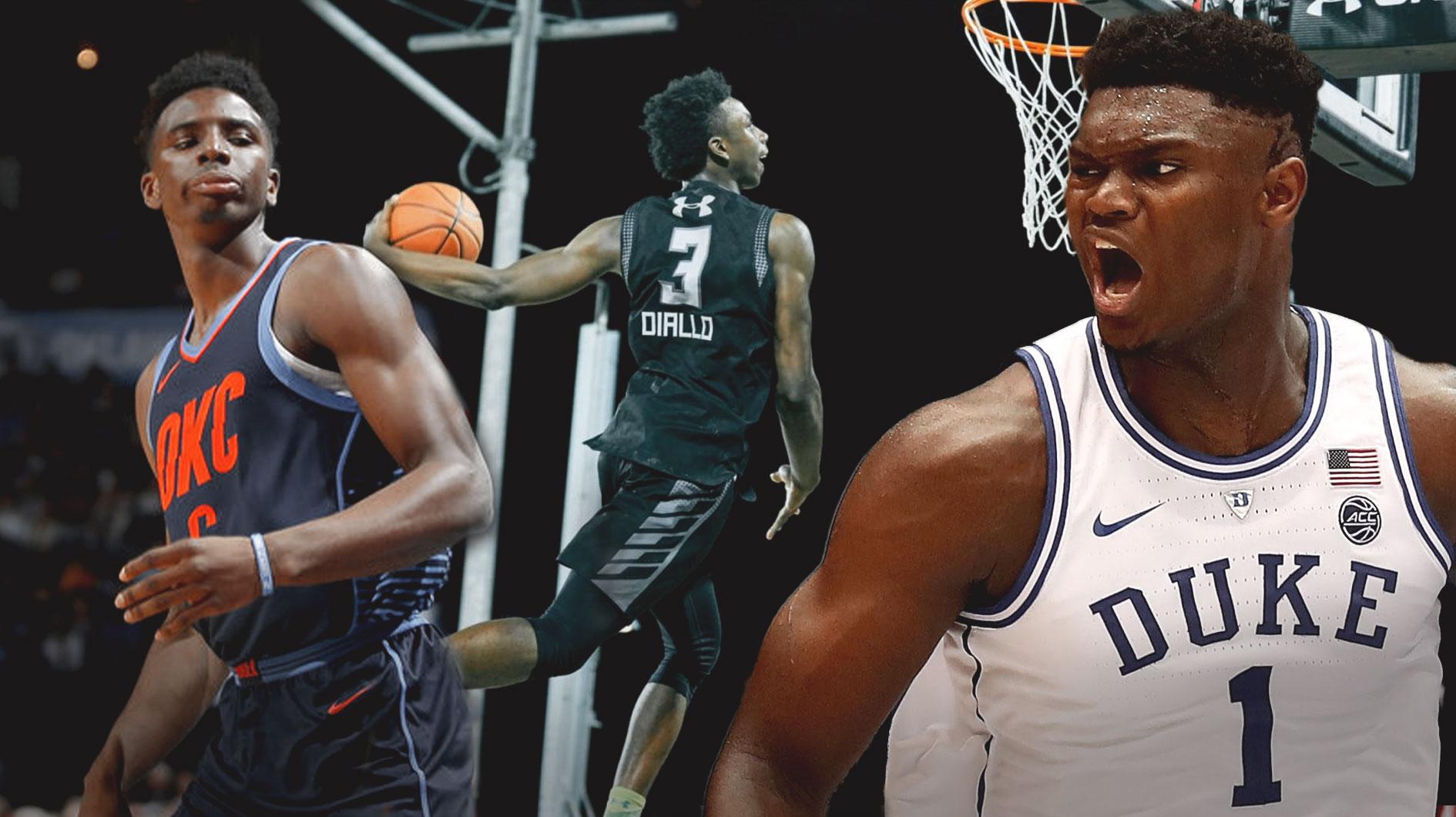 """Zion Williamson là đối thủ mà """"Tân vương úp rổ"""" Hamidou Diallo ..."""